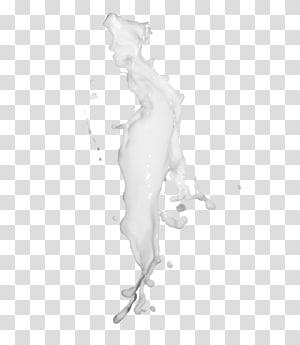 liquide blanc, icône de éclaboussure de lait, éclaboussures de lait png