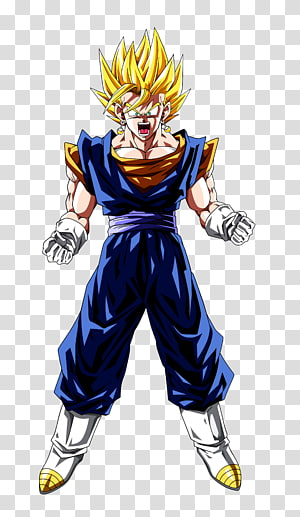 Dragon Ball Z Son Goku illustration, Vegeta Goku Majin Buu Trunks Gotenks, dragon ball z png