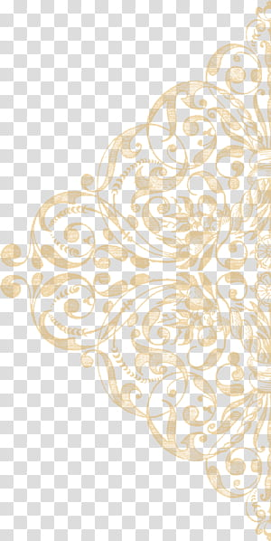 Motif de mappage de la texture de la dentelle, Ornement de la texture de la dentelle dorée, décor floral beige png