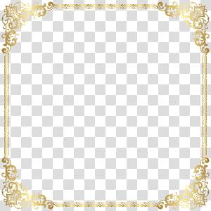 Royaume-Uni, cadre de bordure en or, illustration du cadre en or png