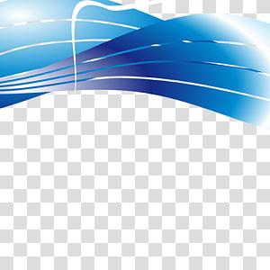 bleu, courbe, fond bleu courbe dynamique png