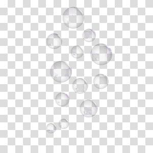 bulles blanches, bulles de savon png
