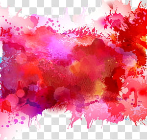 Aquarelle Illustration, aquarelle, illustration abstraite png
