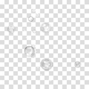 bulles claires, cercle blanc de la zone du point de cercle, bulle de savon png