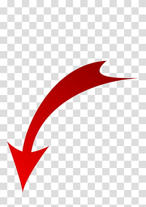 illustration de la flèche vers le bas rouge, icônes d'ordinateur flèche PlayStation 3, flèche rouge vers le bas png