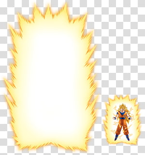 Boule de dragon Super Saiya Vegeta de Goku Gohan, aura png