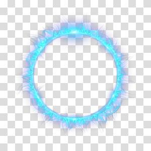 illustration d'anneau bleu, combustion de flammes légères, flamme de cercle bleu png
