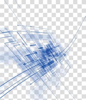 Euclidien bleu, documents de base abstraits, ligne numérique bleue et blanche png