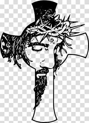 Croix chrétienne christianisme crucifix, jésus christ png