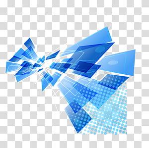 Illustration de fond bleu, bleu et blanc moderne png