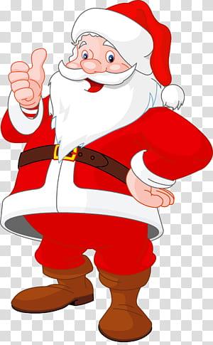 Illustrations de père Noël prêtes à l'emploi, Père Noël, illustration de père Noël png