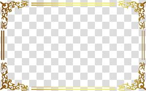 Icône, cadre doré antique, décor de cadre doré png