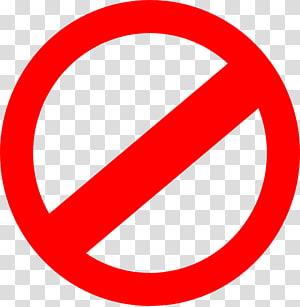 Aucun symbole Panneau, panneaux interdits, non à la signalisation png