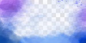 Aquarelle, lumière du soleil, fond aquarelle à l'encre, peinture abstraite bleu sarcelle, bleu et violet png