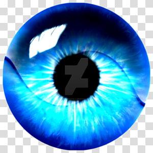 Oeil bleu clair Iris bleu clair, yeux png