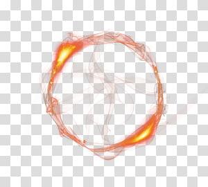 Cercle de flammes de feu, anneau de feu, feu png