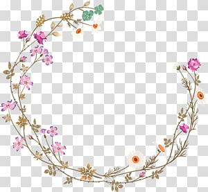 Cadre de bordures et cadres fleur, texture de bordure fleurs fraîches violettes, illustration de fleurs pétales blanches et rouges png