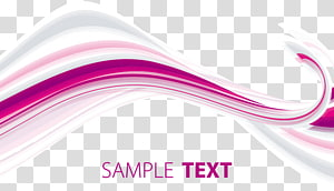 exemple de texte, courbe, courbes géométriques abstraites png