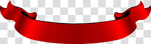 Bannière Web ruban rouge, un ruban pliant rouge vintage, ruban rouge png