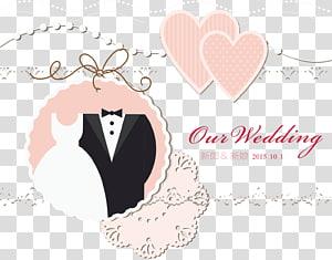 Invitation de mariage carte-cadeau douche nuptiale, faire-part de mariage, notre invitation de mariage png