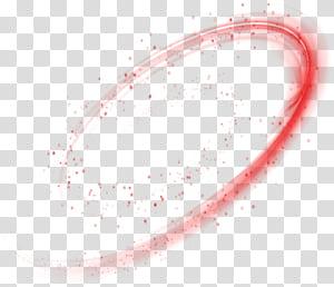 Circle Angle Point, effet de lumière dynamique étoile rouge magique, gros plan du numéro 9 png