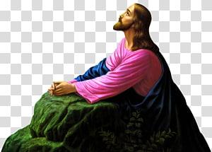 Jésus priant à Gethsémani illustration, christianisme, adoration du Messie, Jésus-Christ png