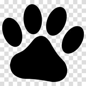 Dog Paw Cougar Dessin, empreintes de pattes png