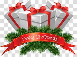 Icône de Noël, cadeaux de joyeux Noël, illustration de boîte de cadeau joyeux Noël png