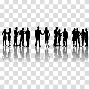 Silhouette Professional Employment, Silhouettes de personnes professionnelles png