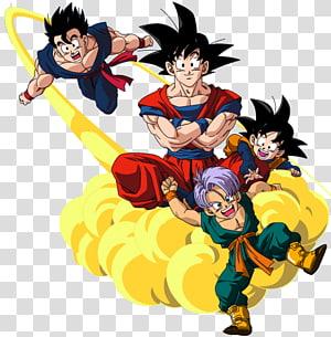 Goku Goten Gohan Trunks Vegeta, boule de dragon png