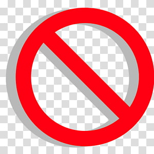 logo de restriction, aucun symbole Blog publicitaire, faux png