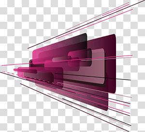 illustration pourpre, technologie de la géométrie, géométrie abstraite png