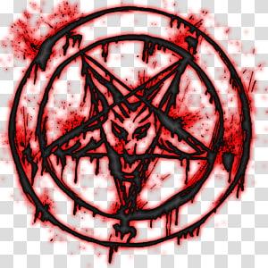 pentagramme, pentagramme satanisme cachet de Baphomet, diable png