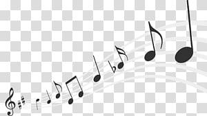 illustration de notes de musique, note de musique Scalable Graphics, notes de musique png