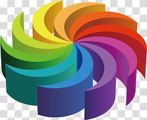 illustration de l'art abstrait multicolore, abstrait, géométrie, géométrie abstraite png