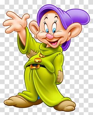 Blanche-Neige naine, Dopey Seven Dwarfs Grumpy Bashful Sneezy, Blanche-Neige png