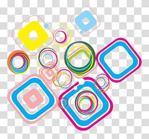 Abstrait, illustration multicolore png