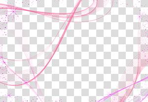 Motif graphique, matériau décoratif, lignes de fond violet abstrait doux, fond bleu et rose png