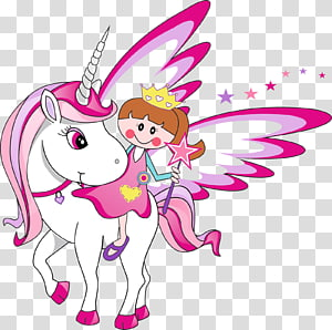 fille, équitation, licorne, corne licorne, licorne png