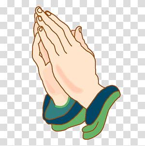 Mains humaines dans l'illustration de geste de prière, Prier les mains Prière Louez le culte, Bienvenue png