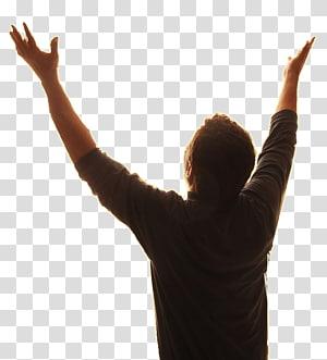 homme levant les mains, culte des assemblées de Dieu png