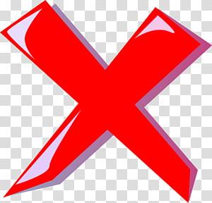 x rouge, erreur d'icônes d'ordinateur, marque x png