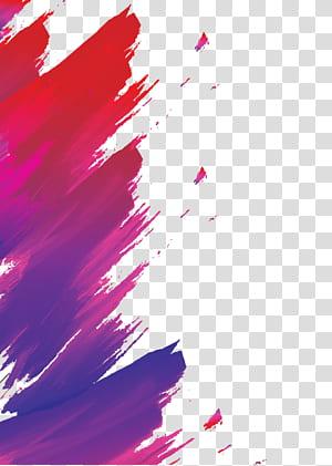 Affiche jazz, aquarelle abstraite peinte à la main, peinture abstraite aléatoire png
