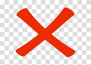 rouge X, icônes de l'ordinateur East River Shorewalkers Inc Marque X Coche, marque incorrecte png