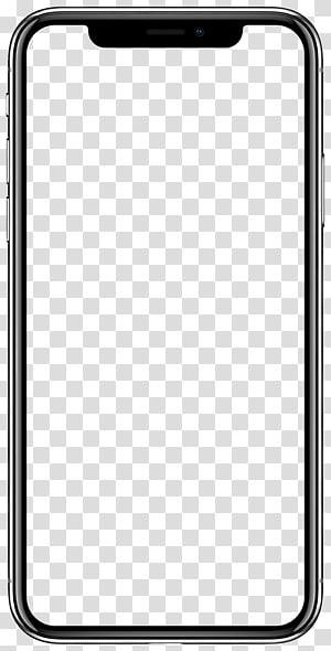 Illustration du cadre de l'iPhone, iPhone X App Store Apple iOS 11, pomme png