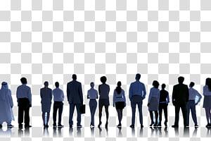 illustration de personnel, Bureau de placement Recrutement Advanced Personnel Services Travail temporaire, Business People Silhouettes png