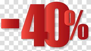 -40%, Ventes ,, 40% sur la vente png