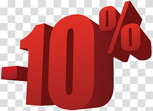 10%, 10% de réduction sur la vente png