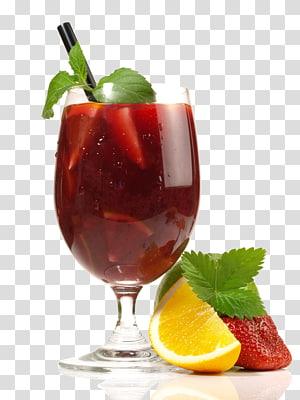 jus dans un verre à côté de fruits, jus de cocktail Mojito Sex on the Beach Caipirinha, Great juice png
