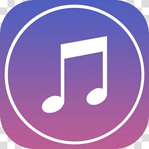 symbole violet, iTunes, icône Apple iTunes png